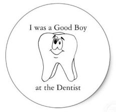 I was a Good Boy at the Dentist